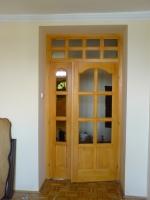 Fa beltéri ajtó üveg nélkül