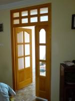 Tömörfa ajtó