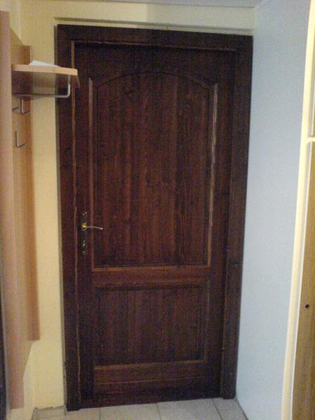 diószínű beltéri ajtó