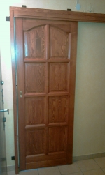 8 kazettás toló ajtó